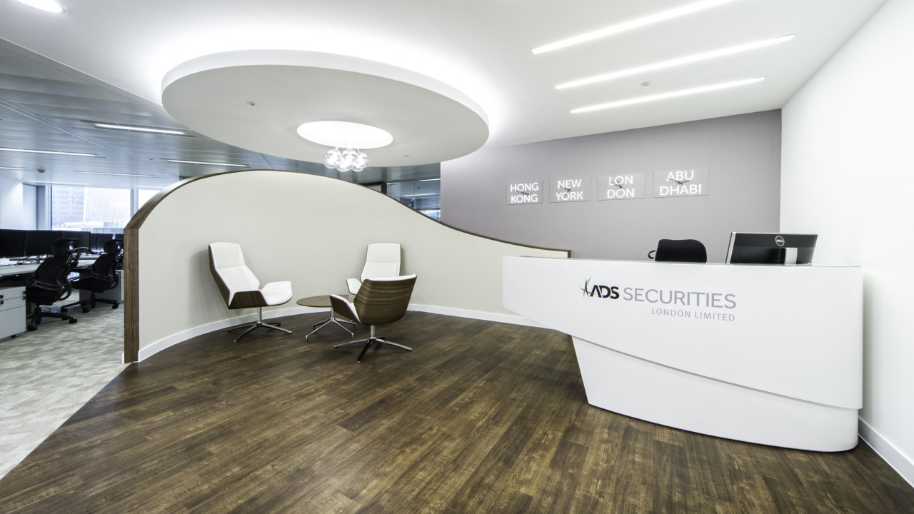 reception office design for ADS