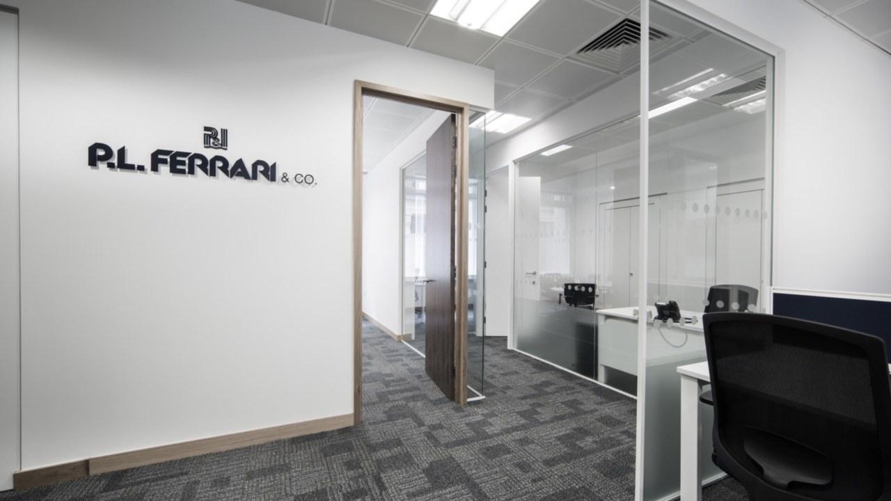 office design for PL Ferrari
