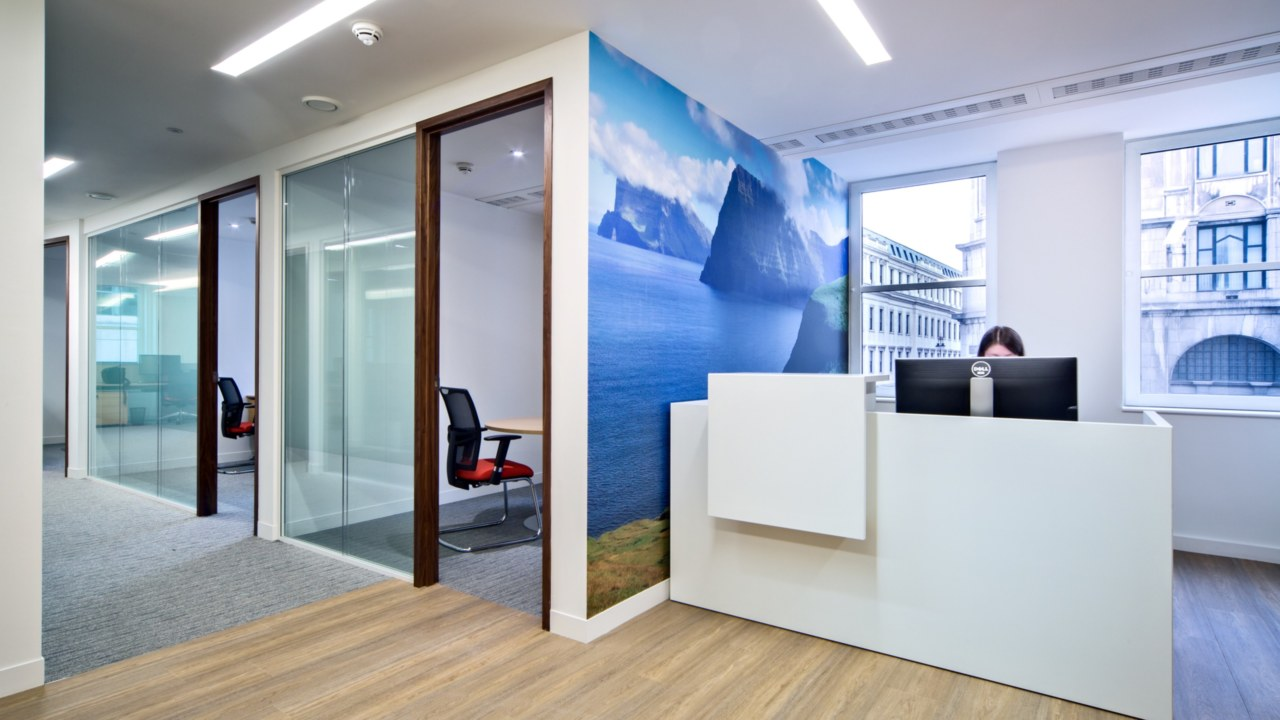 office design for Faroe-Petroleum