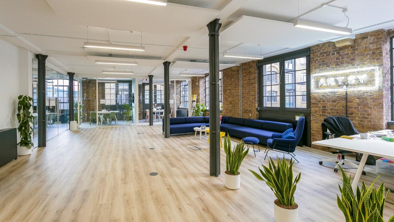 Office design for Artsy