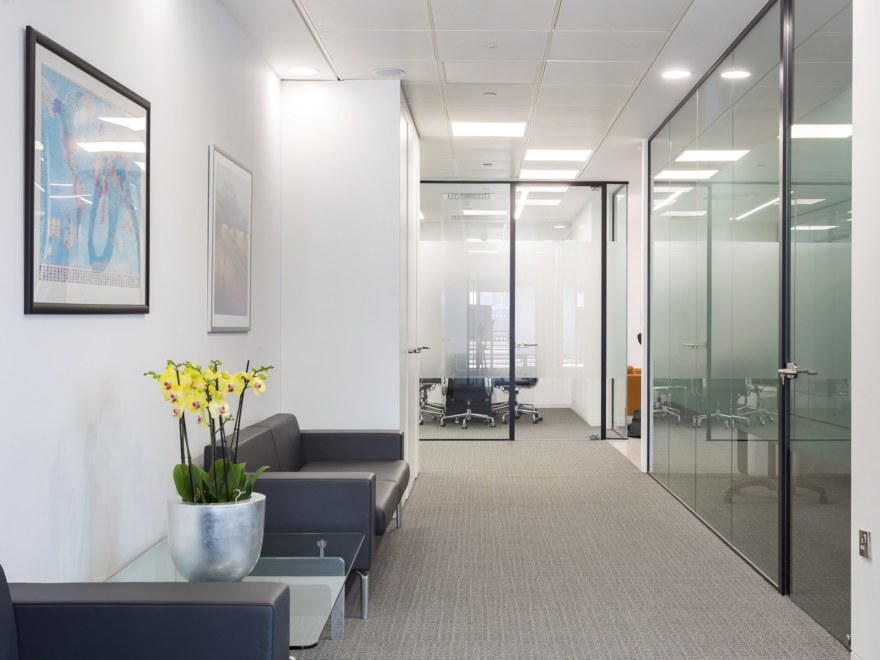 Fast track office design for Man Capital