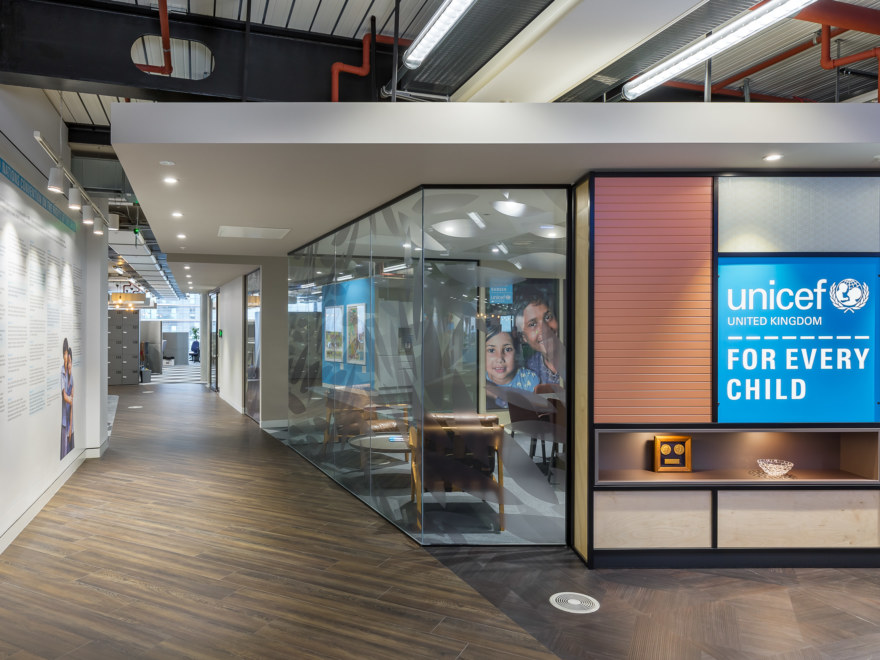 office-design and build for UNICEF