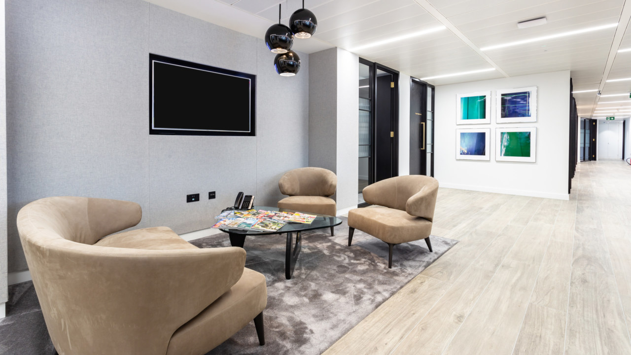 workplace design for Epiris