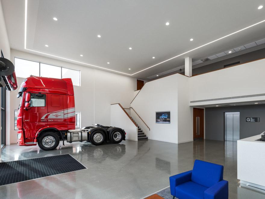DAF-Trucks office design by Oktra