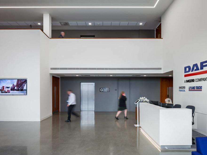 office-reception-design-for-DAF Trucks