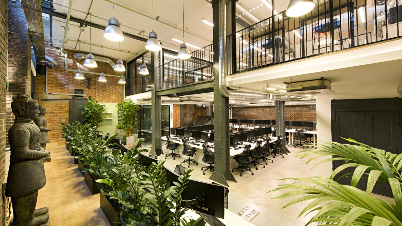 office design for Ohpen