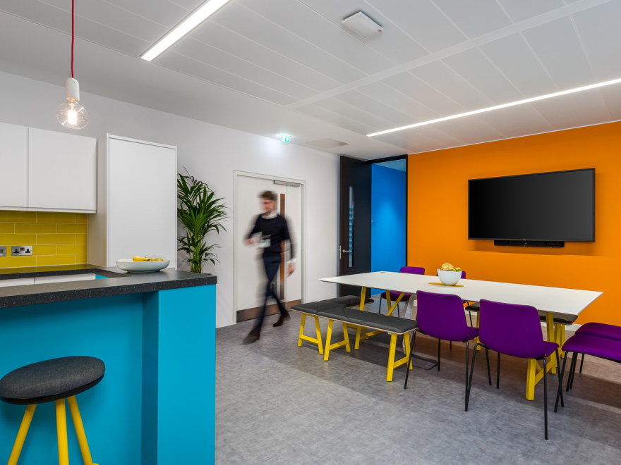 Office Break-out area Design for GBG
