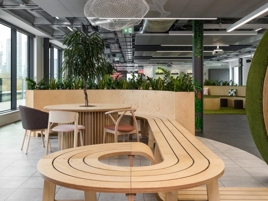 Office design for Bosch