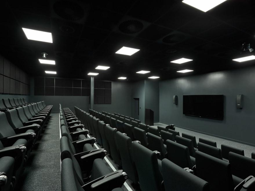 Auditorium room at Gymshark lifting club