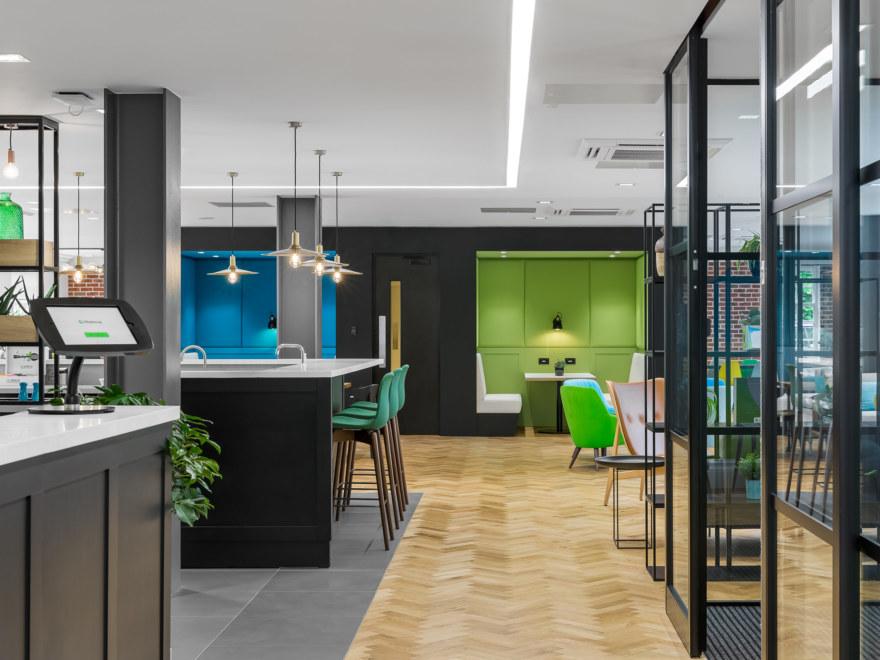 Office design for Halma