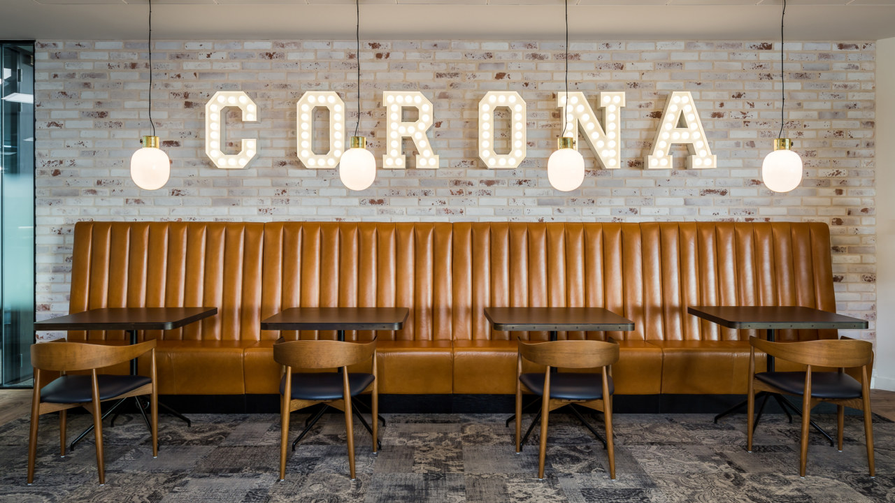 Office designfor Corona Energy
