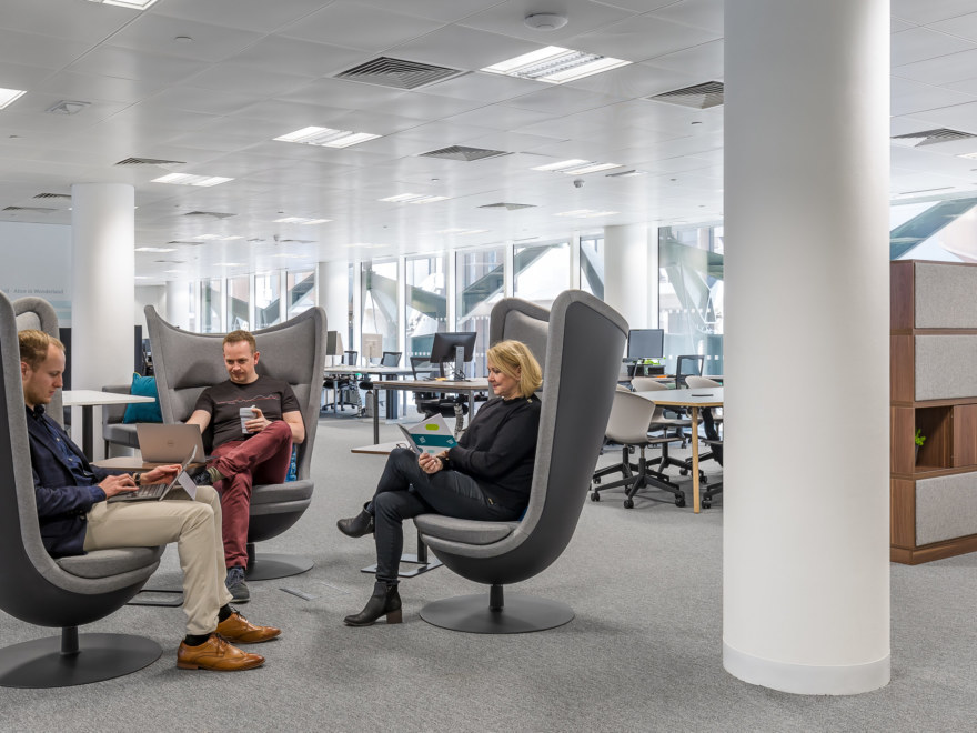 Office relocation and refurbishment for Eigen