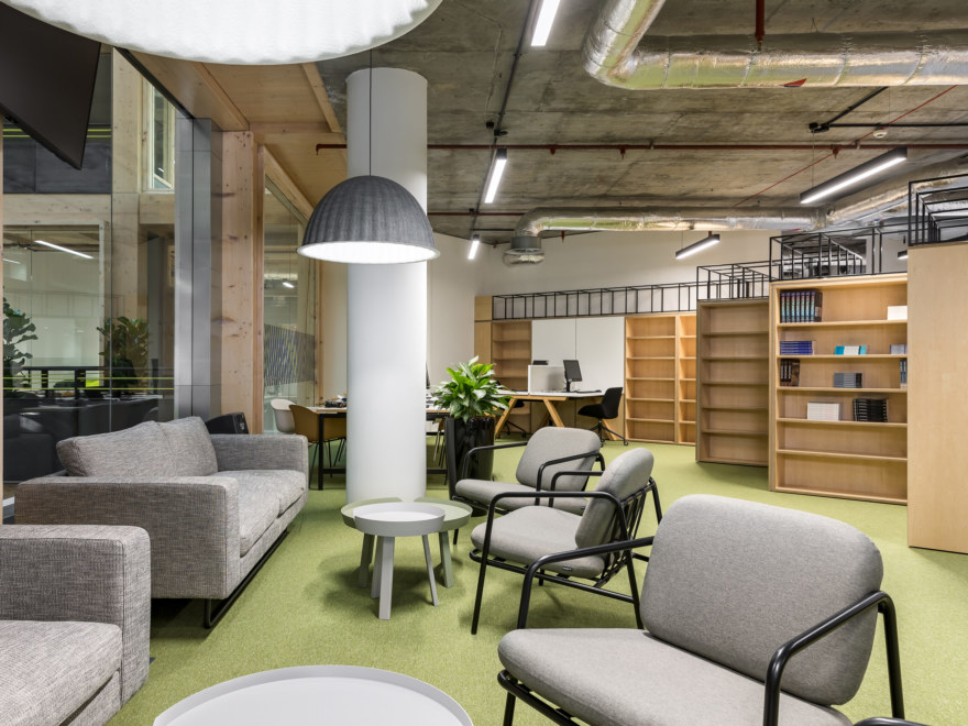 Library design at Anglia Ruskin University