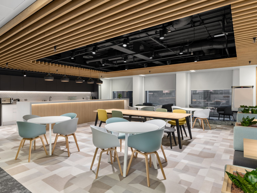 Office refurbishment - agile area