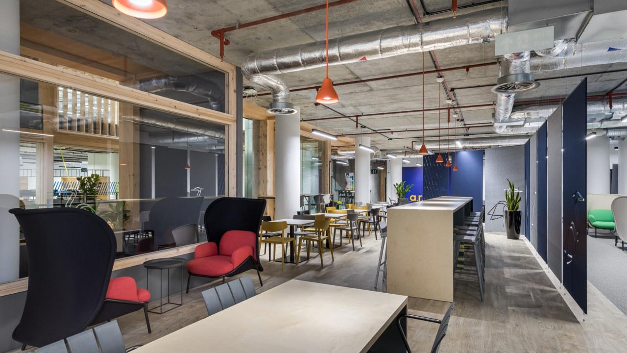 University Interior Design and Build