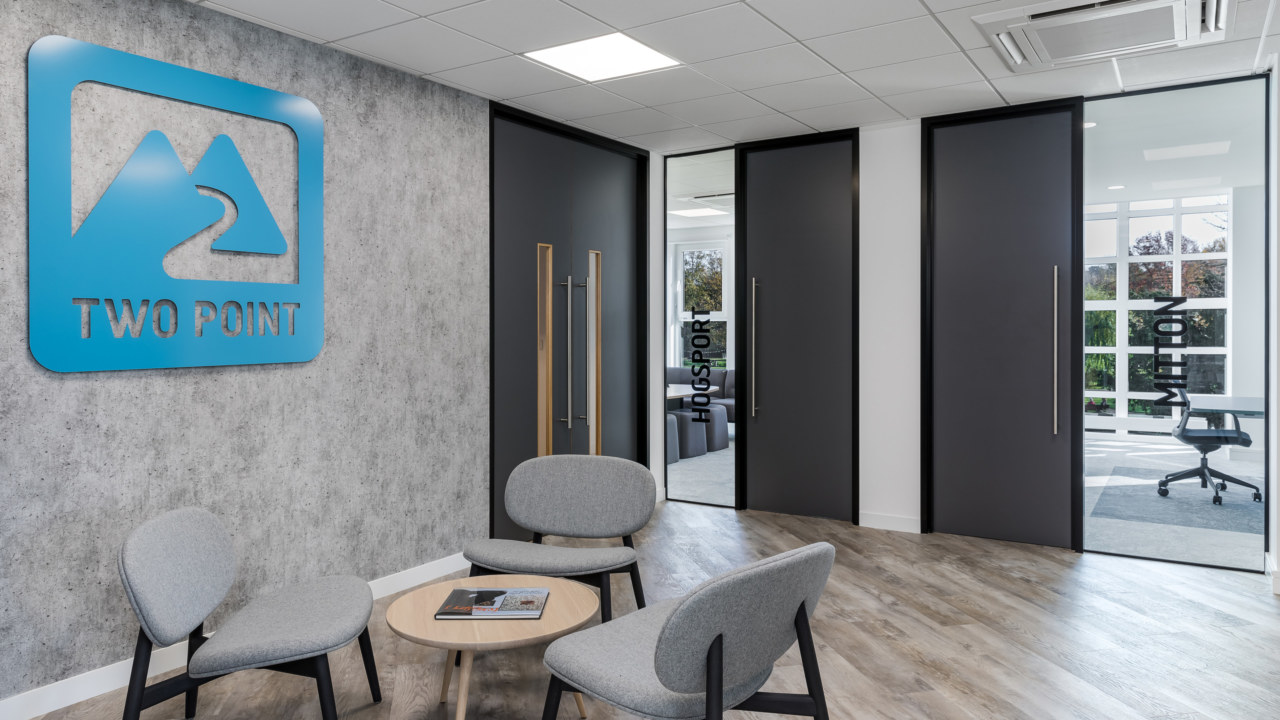 Cat B fit out for British gaming company Two Point Studios