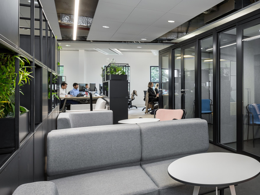Multiple workstations office fit out