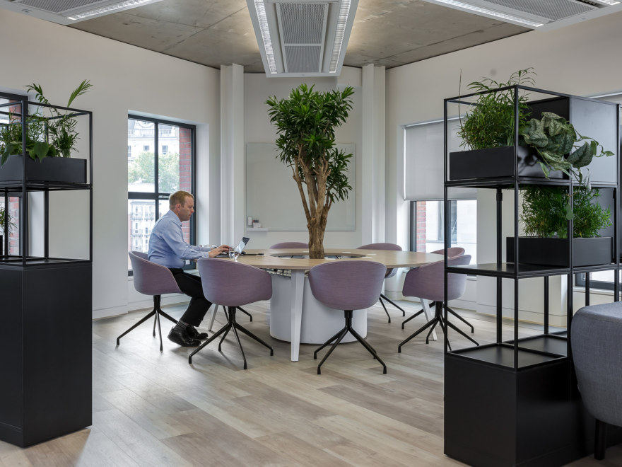 Standout workspace design feature